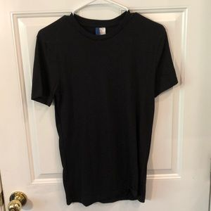 Men's black t shirt